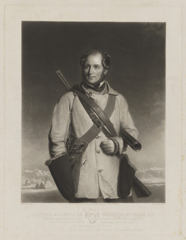 Sir Robert McClure, by James Scott, published by  Henry Graves & Co, after  Stephen Pearce, published 15 February 1856 (1855) - NPG D38113 - © National Portrait Gallery, London
