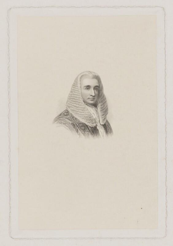 Sir Joseph Napier, 1st Bt, after Stephen Catterson Smith, (1860) - NPG D38466 - © National Portrait Gallery, London
