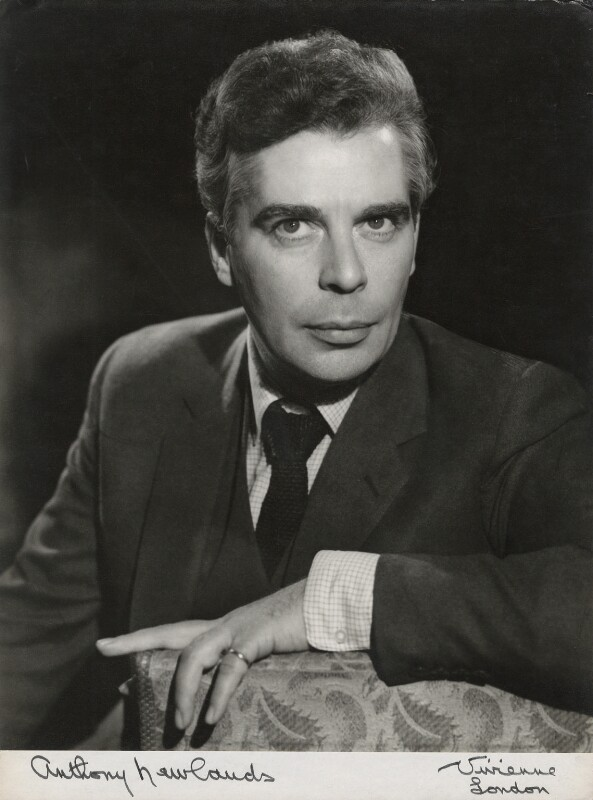 Anthony Newlands, by Vivienne, late 1950s - NPG x133233 - © reserved; collection National Portrait Gallery, London