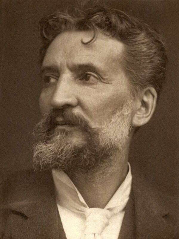 Edward (Edouard) Lanteri, by George Charles Beresford, 1902 - NPG x19884 - © National Portrait Gallery, London