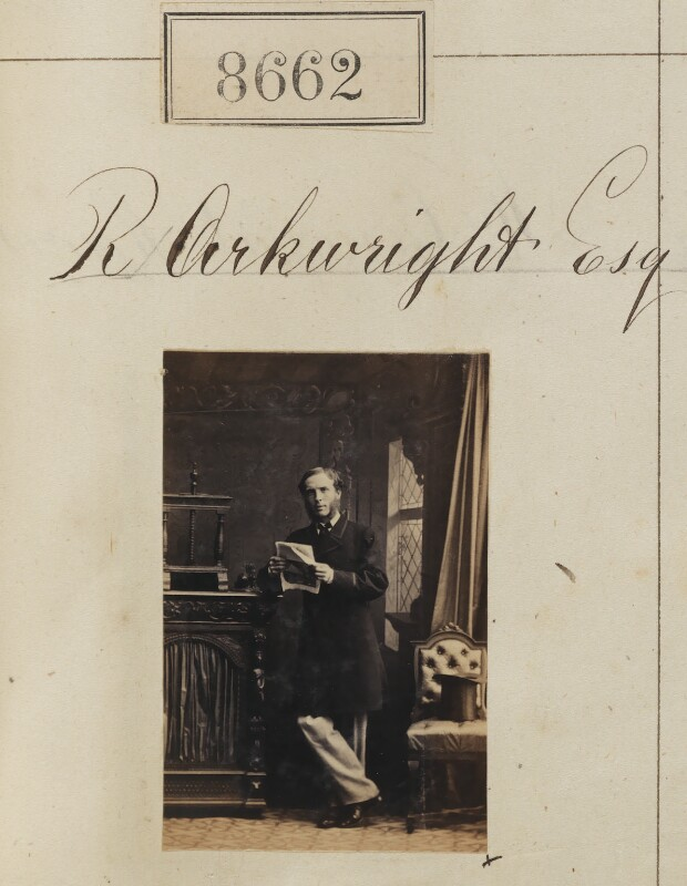 Richard Arkwright, by Camille Silvy, 11 June 1862 - NPG Ax58485 - © National Portrait Gallery, London