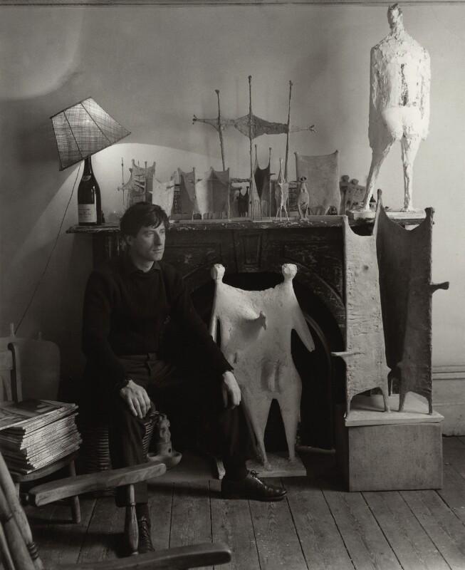 (William) Kenneth Armitage, by Ida Kar, 1954 - NPG x133212 - © National Portrait Gallery, London