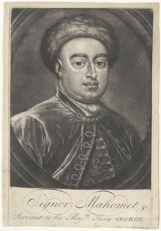 Ludwig Maximilian Mehemet von Königstreu, published by George Kitchin, after  Sir Godfrey Kneller, Bt, (1715) - NPG D38146 - © National Portrait Gallery, London