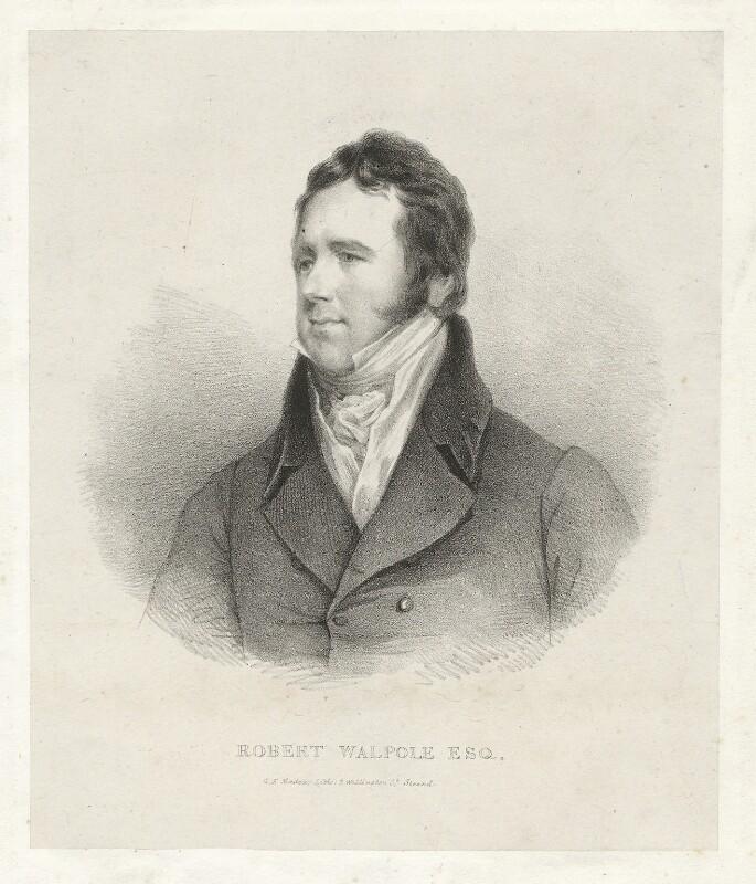 Robert Walpole, by George Edward Madeley, after  John Jackson, before 1826 - NPG D38516 - © National Portrait Gallery, London