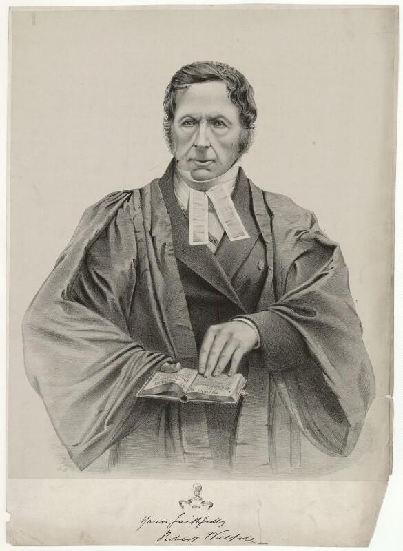 Robert Walpole, by Unknown artist, before 1856 - NPG D38517 - © National Portrait Gallery, London