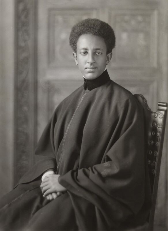 Amha Selassie I, Emperor of Ethiopia as Crown Prince Asfaw Wossen, by Bassano Ltd, 14 January 1932 - NPG x133269 - © National Portrait Gallery, London