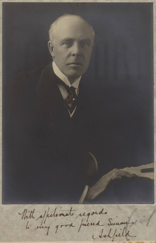 Albert Henry Stanley, Baron Ashfield, by Hugh Cecil (Hugh Cecil Saunders), 1920s - NPG x133276 - © reserved; collection National Portrait Gallery, London
