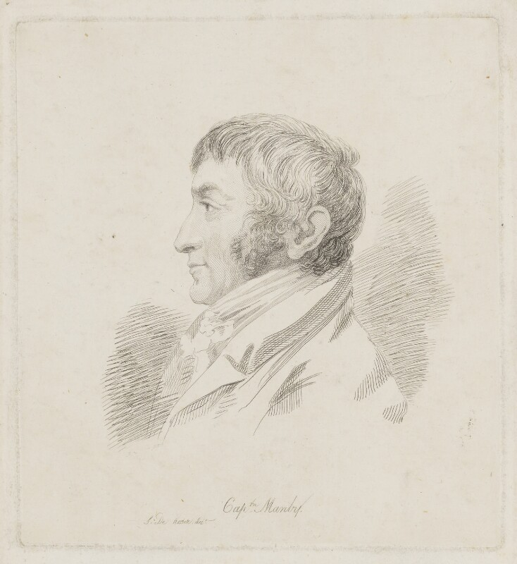 George William Manby, by Mary Dawson Turner (née Palgrave), after  Simon de Koster, (1810) - NPG D38174 - © National Portrait Gallery, London