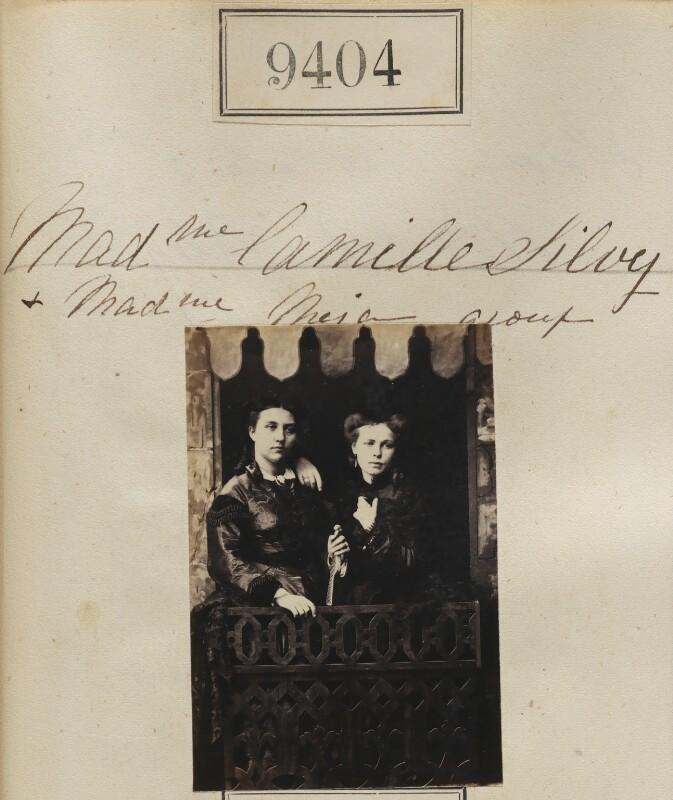 (Louise Marie Elisabeth Lucie) Alice Silvy (née Monnier); Madame Meja, by Camille Silvy, 1862-1866 - NPG Ax59210 - © National Portrait Gallery, London
