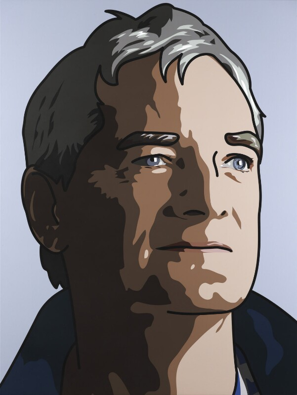 James Dyson ('James, Inventor'), by Julian Opie, 2010 - NPG 6917 - © Julian Opie / National Portrait Gallery, London
