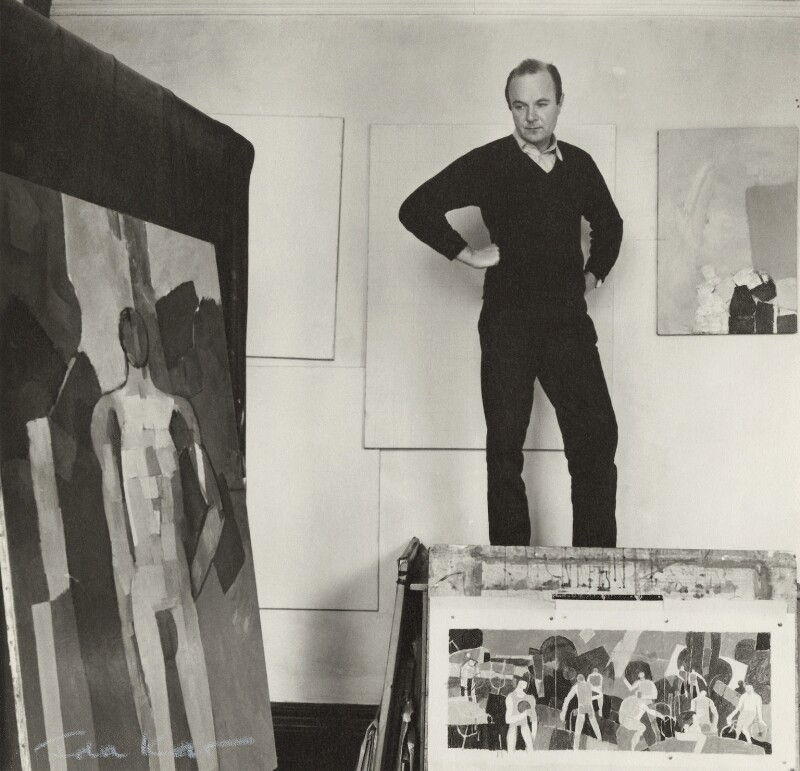 Keith Vaughan, by Ida Kar, 1960 - NPG x133287 - © National Portrait Gallery, London