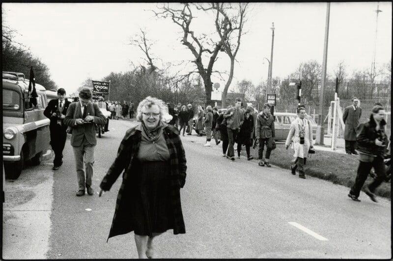 Margaret Doreen ('Peggy') Duff (née Eames), by Euan Duff, 1962 - NPG x133306 - © Euan Duff
