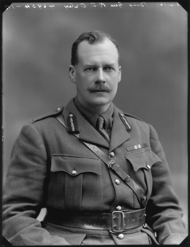 Reginald Stewart Oxley, by Bassano Ltd, 15 April 1916 - NPG x154665 - © National Portrait Gallery, London