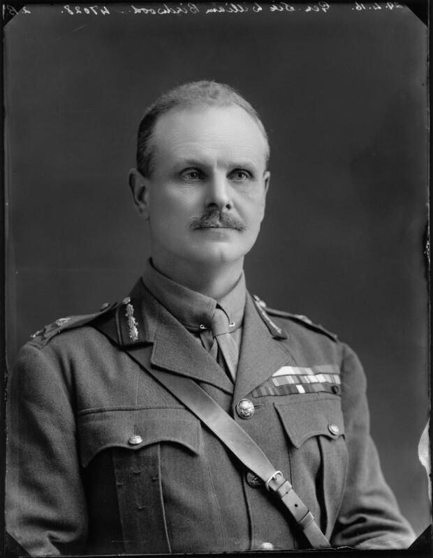 William Riddell Birdwood, 1st Baron Birdwood, by Bassano Ltd, 29 April 1916 - NPG x154670 - © National Portrait Gallery, London