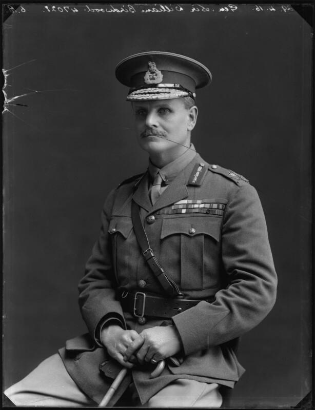 William Riddell Birdwood, 1st Baron Birdwood, by Bassano Ltd, 29 April 1916 - NPG x154673 - © National Portrait Gallery, London