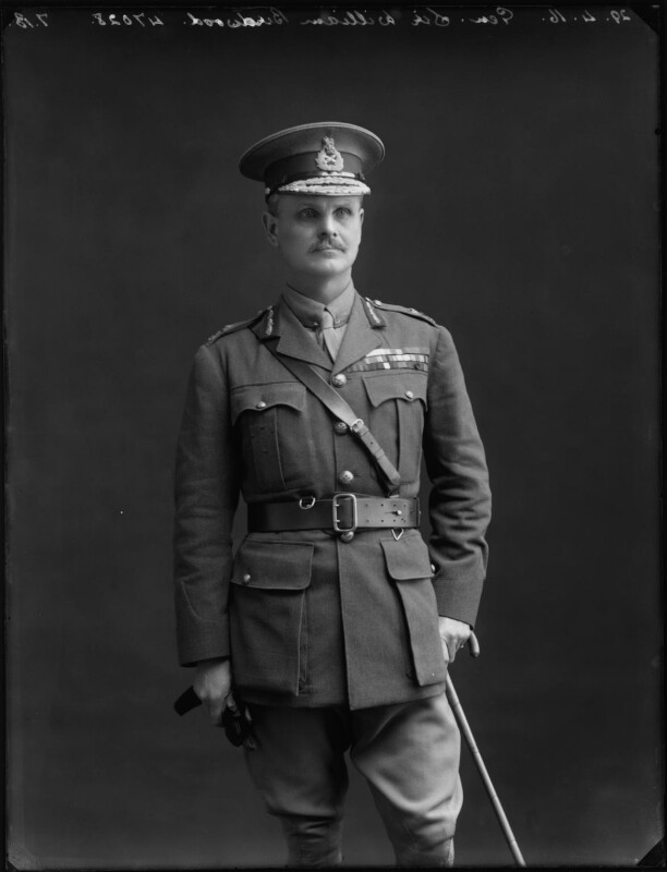 William Riddell Birdwood, 1st Baron Birdwood, by Bassano Ltd, 29 April 1916 - NPG x154674 - © National Portrait Gallery, London