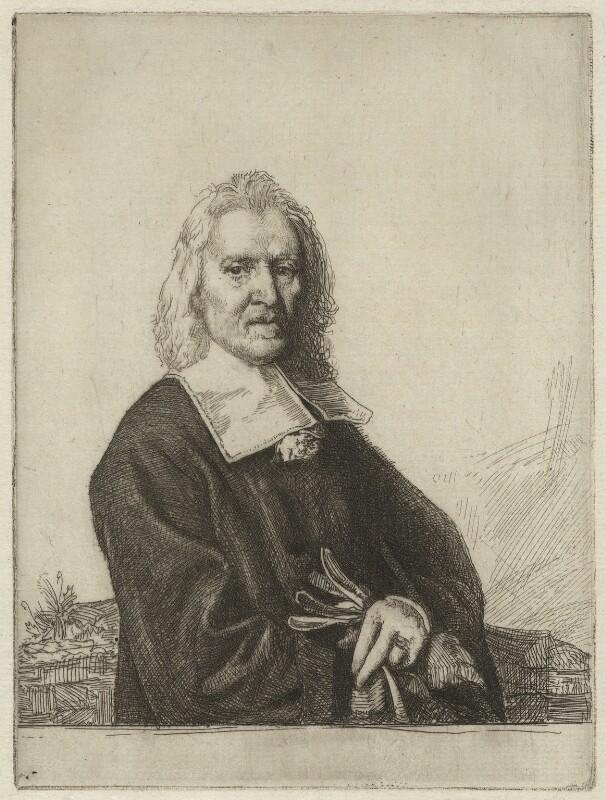 Izaak Walton, by William Strang, after  Jacob Huysmans, 1902 - NPG D38526 - © National Portrait Gallery, London