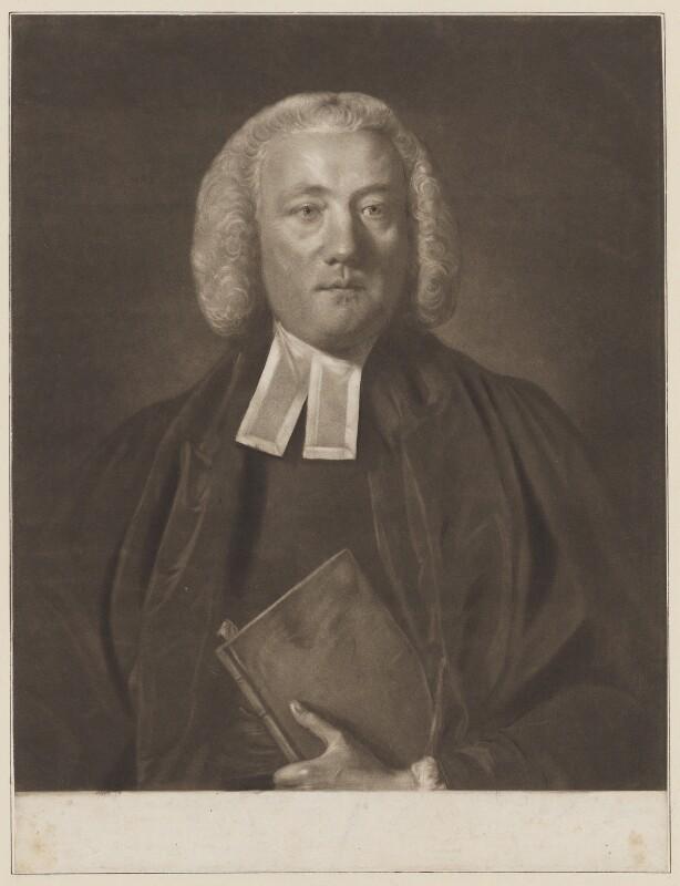 William Markham, by Edward Fisher, after  Sir Joshua Reynolds, (1759) - NPG D38226 - © National Portrait Gallery, London