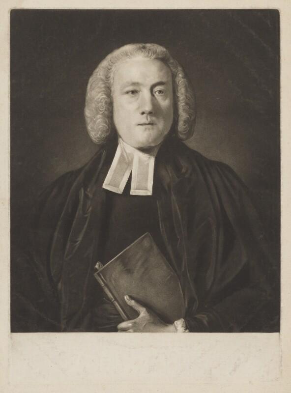 William Markham, by Edward Fisher, after  Sir Joshua Reynolds, (1759) - NPG D38227 - © National Portrait Gallery, London