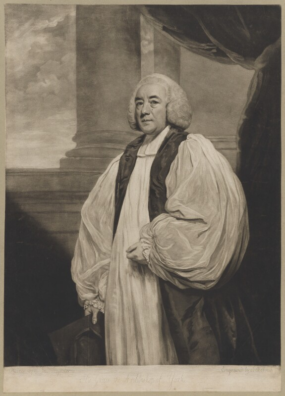 William Markham, by John Raphael Smith, after  Sir Joshua Reynolds, published 1778 (1777) - NPG D38228 - © National Portrait Gallery, London
