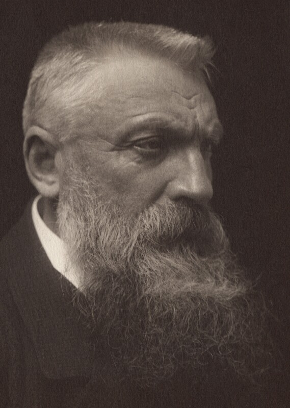 Auguste Rodin, by George Charles Beresford, 1902 - NPG x12857 - © National Portrait Gallery, London