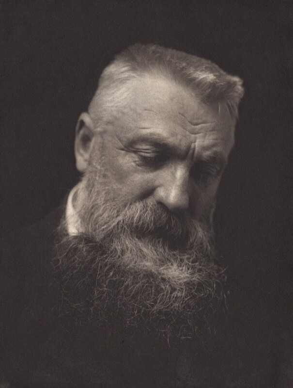 Auguste Rodin, by George Charles Beresford, 1902 - NPG x12859 - © National Portrait Gallery, London