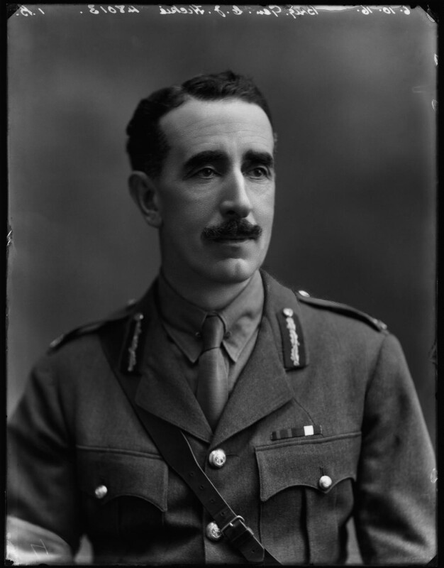 Carlos Joseph Hickie, by Bassano Ltd, 6 October 1916 - NPG x154701 - © National Portrait Gallery, London