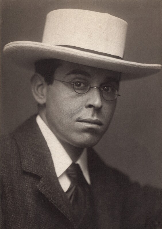 William Rothenstein, by George Charles Beresford, circa 1902 - NPG x12911 - © National Portrait Gallery, London