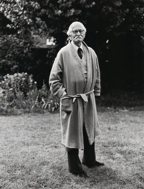 William Empson, by Dmitri Kasterine, 1980 - NPG x133315 - © Dmitri Kasterine