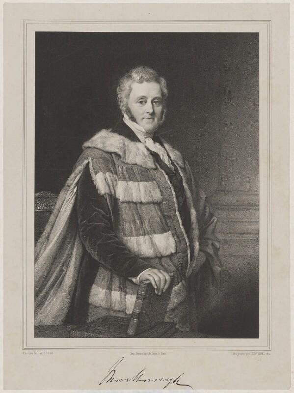 George Spencer-Churchill, 6th Duke of Marlborough, by Alphonse Léon Noël, printed by  Lemercier, after  Sir William Charles Ross, 1850 - NPG D38257 - © National Portrait Gallery, London