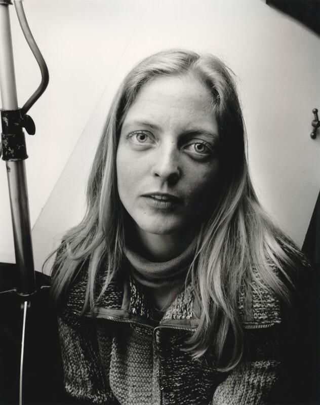 Arabella Churchill, by Hag (Ian Hargreaves), March 1976 - NPG x133355 - © Ian Hargreaves / National Portrait Gallery, London