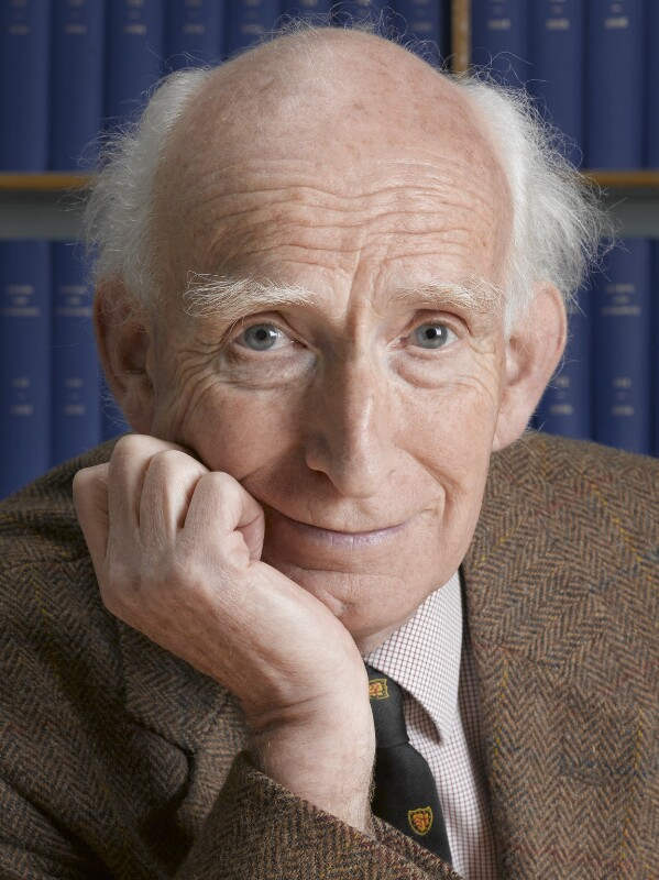 Donald Lynden-Bell, by Max Alexander, 26 November 2008 - NPG x133356 - © Max Alexander / Science Photo Library Ltd