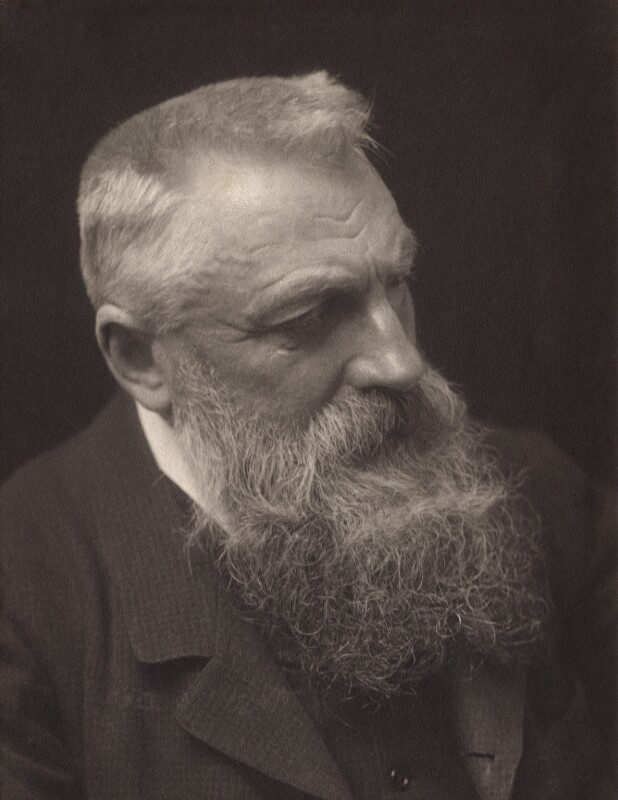 Auguste Rodin, by George Charles Beresford, 1902 - NPG x12910 - © National Portrait Gallery, London