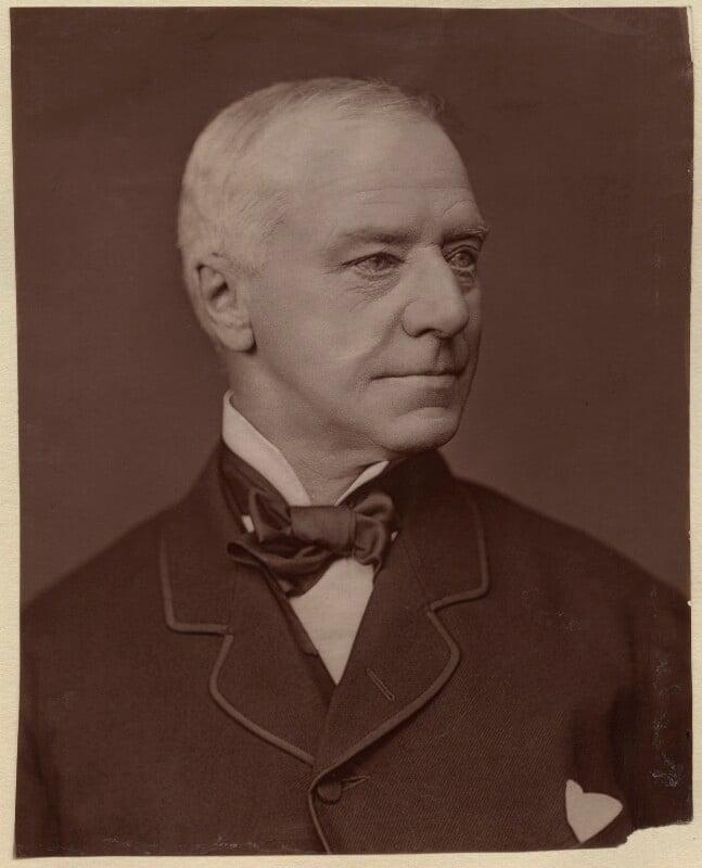 Henry Hawkins, Baron Brampton, by Lock & Whitfield, 1877 or before - NPG x133376 - © National Portrait Gallery, London