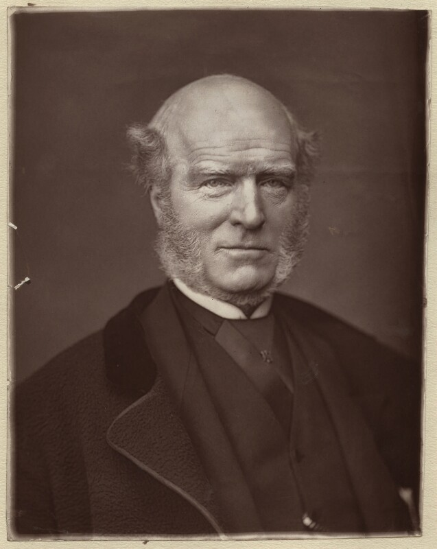 Thomas Hughes, by Lock & Whitfield, 1880 or before - NPG x133380 - © National Portrait Gallery, London
