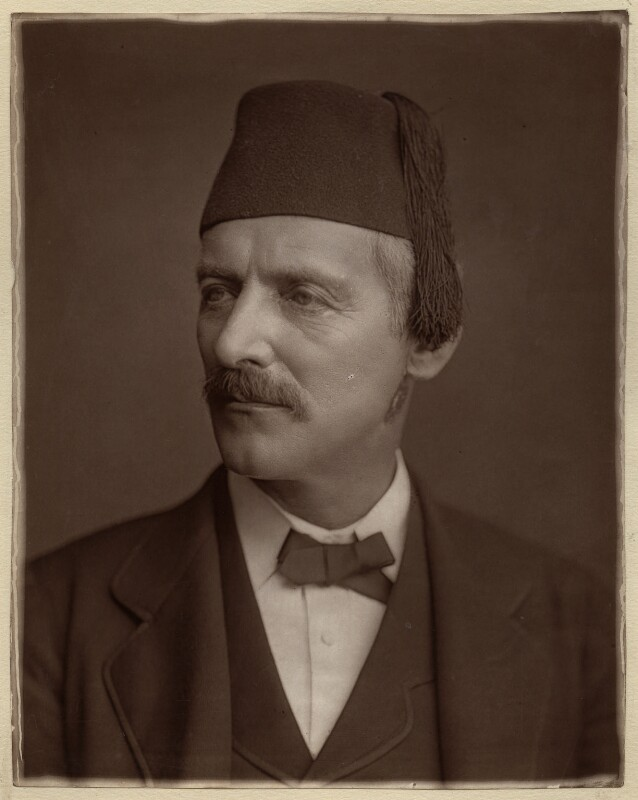 William Gifford Palgrave, by Lock & Whitfield, 1880 or before - NPG x133394 - © National Portrait Gallery, London