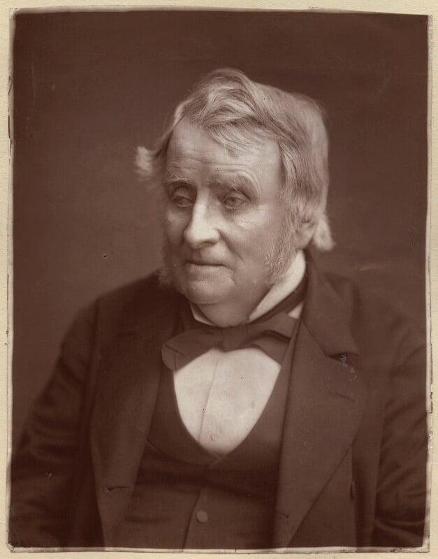 John Arthur Roebuck, by Lock & Whitfield, 1881 or before - NPG x133399 - © National Portrait Gallery, London