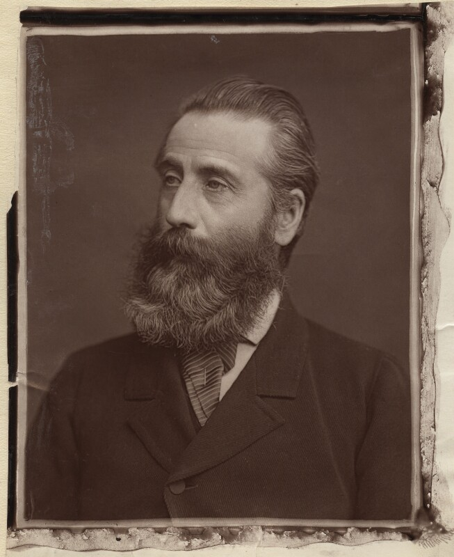 Henry Tanworth Wells, by Lock & Whitfield, 1878 or before - NPG x133410 - © National Portrait Gallery, London