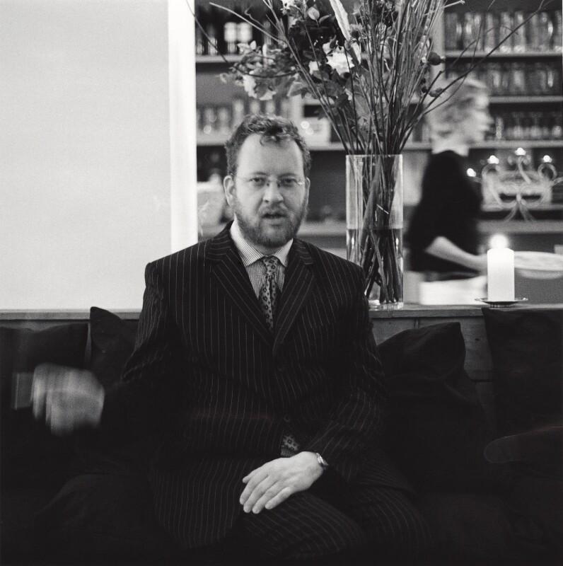 Philip Michael Hensher, by Alexander McIntyre, 2003 - NPG x133374 - © Alexander McIntyre