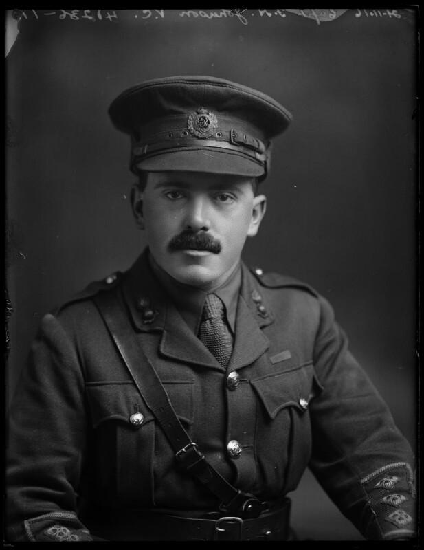 Frederick Henry Johnson, by Bassano Ltd, 21 November 1916 - NPG x154768 - © National Portrait Gallery, London