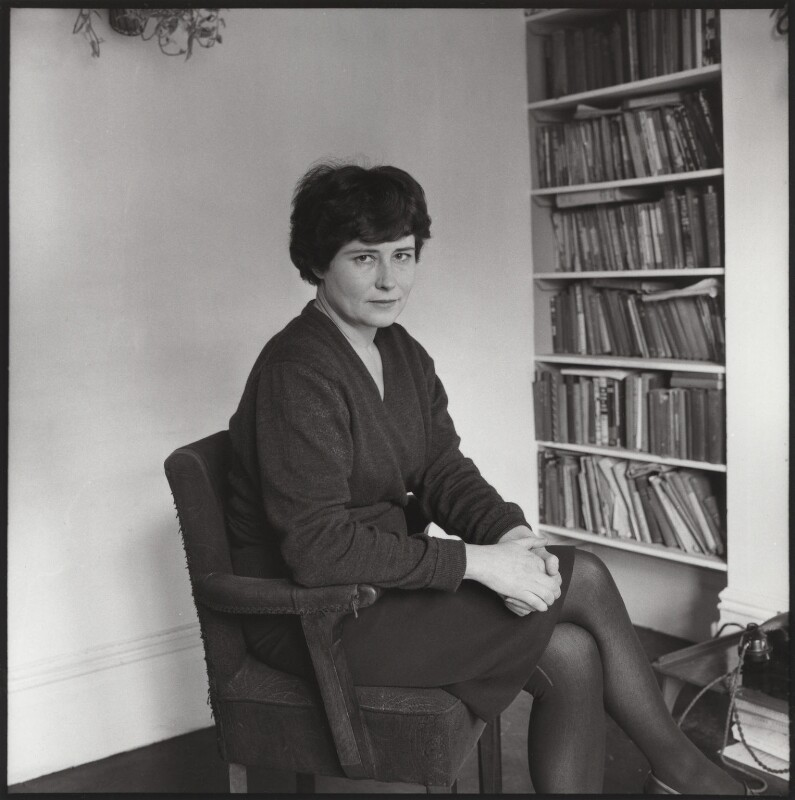 Doris Lessing, by Ida Kar, late 1950s - NPG x134001 - © National Portrait Gallery, London