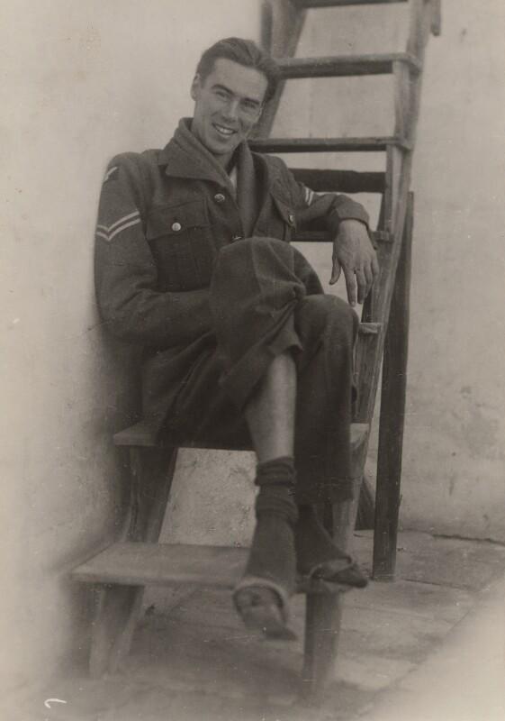 Victor Musgrave, by Ida Kar, 1944 - NPG x134016 - © National Portrait Gallery, London