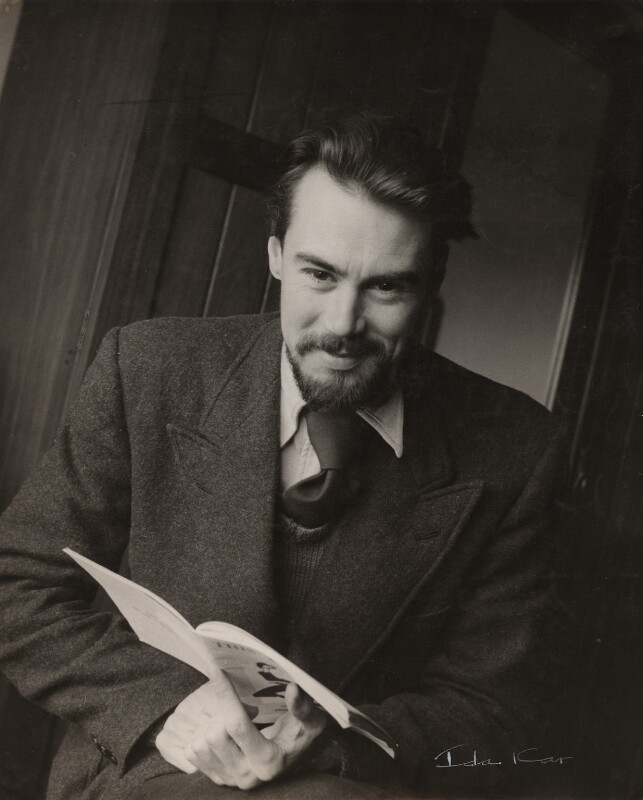Victor Musgrave, by Ida Kar, early 1950s - NPG x134021 - © National Portrait Gallery, London