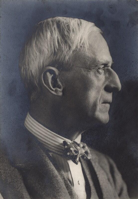 Henry Tonks, by George Charles Beresford, 15 June 1922 - NPG x26914 - © National Portrait Gallery, London
