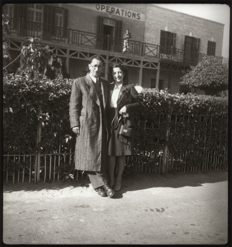 Edmond Belali; Ida Kar, by Ida Kar, late 1930s - NPG x134046 - © National Portrait Gallery, London