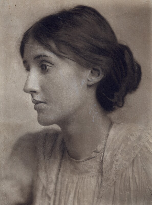 Virginia Woolf, by George Charles Beresford, July 1902 - NPG x27535 - © National Portrait Gallery, London
