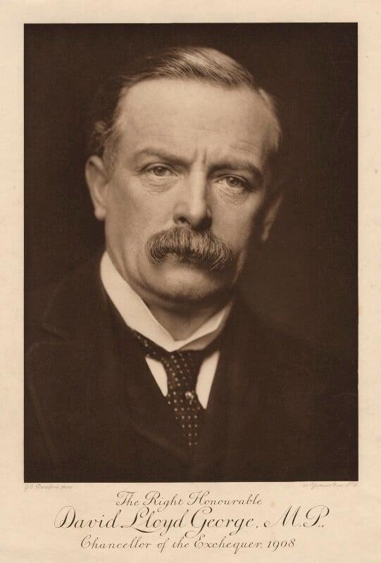 David Lloyd George, by George Charles Beresford, 1908 - NPG x12474 - © National Portrait Gallery, London
