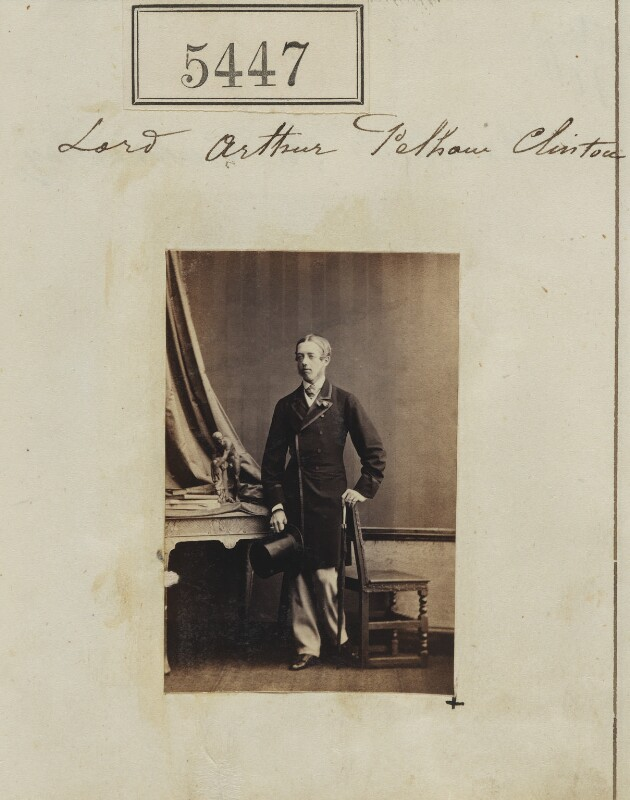 Lord Arthur Pelham-Clinton, by Camille Silvy, 12 August 1861 - NPG Ax55407 - © National Portrait Gallery, London