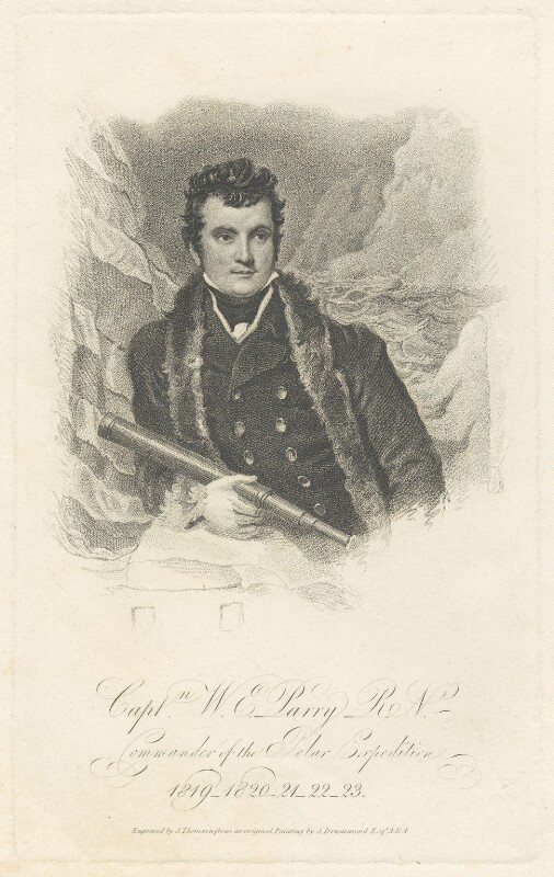 Sir William Edward Parry, by James Thomson (Thompson), after  Samuel Drummond, published 1821 - NPG D38801 - © National Portrait Gallery, London