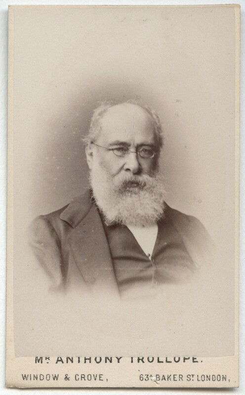 Anthony Trollope, by Window & Grove, mid-late 1870s - NPG x134140 - © National Portrait Gallery, London